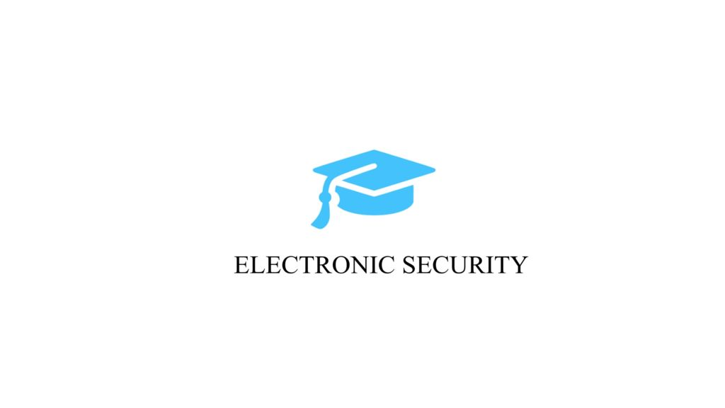 electronic security course in bangalore